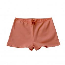 Shorty JEANNE coton bio Abricot
