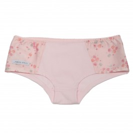 Culotte shorty CAMILLE rose poésie