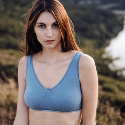 ALBERTINE -Bleu minéral