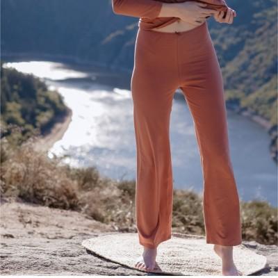 Pantalon ZEN -TERRE de SIENNE