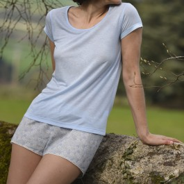 MARIETTE tee-shirt Myosotis