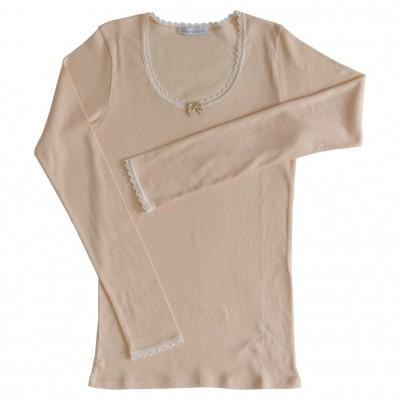 T.shirt ANAËLLE coton & soie