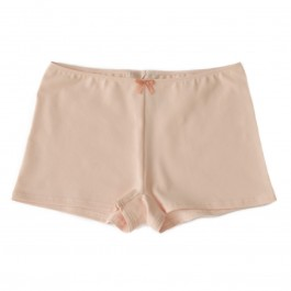 Shorty JEANNE coton bio Rose Poudre