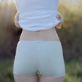 Shorty JEANNE coton bio Verveine