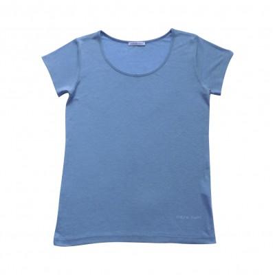 MARIETTE tee-shirt Bleu Céleste